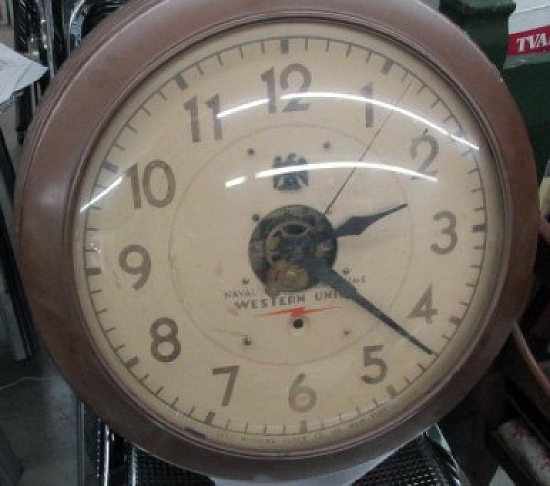 Western Union Wall Clock