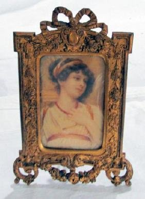 Italian Portrait Miniature 19th Cent.