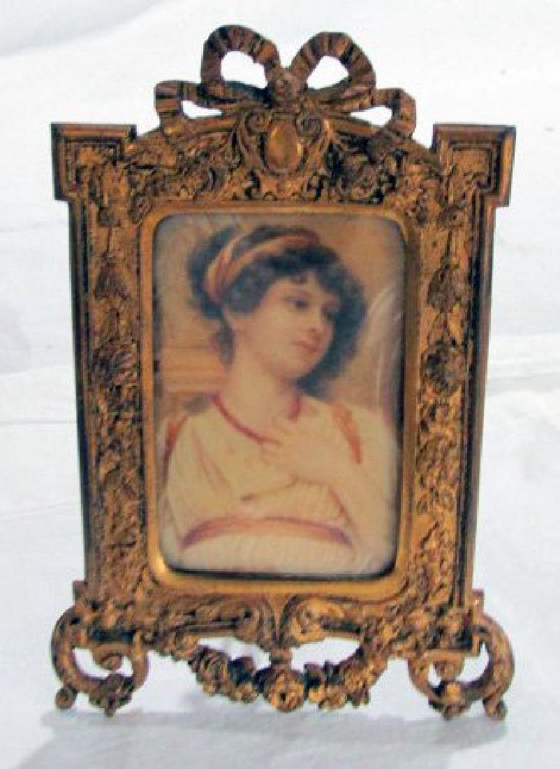 Italian Portrait Miniature 19th Cent.