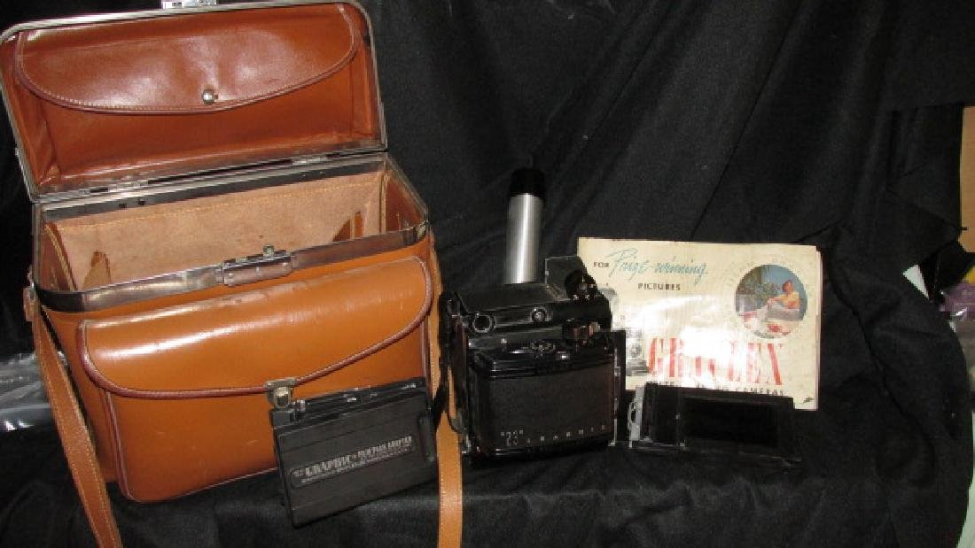23 Graphic Graflex Vintage Camera