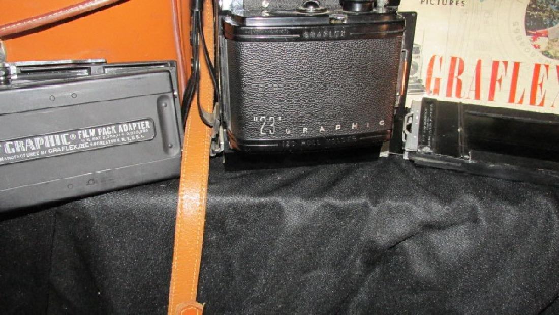 23 Graphic Graflex Vintage Camera - 2