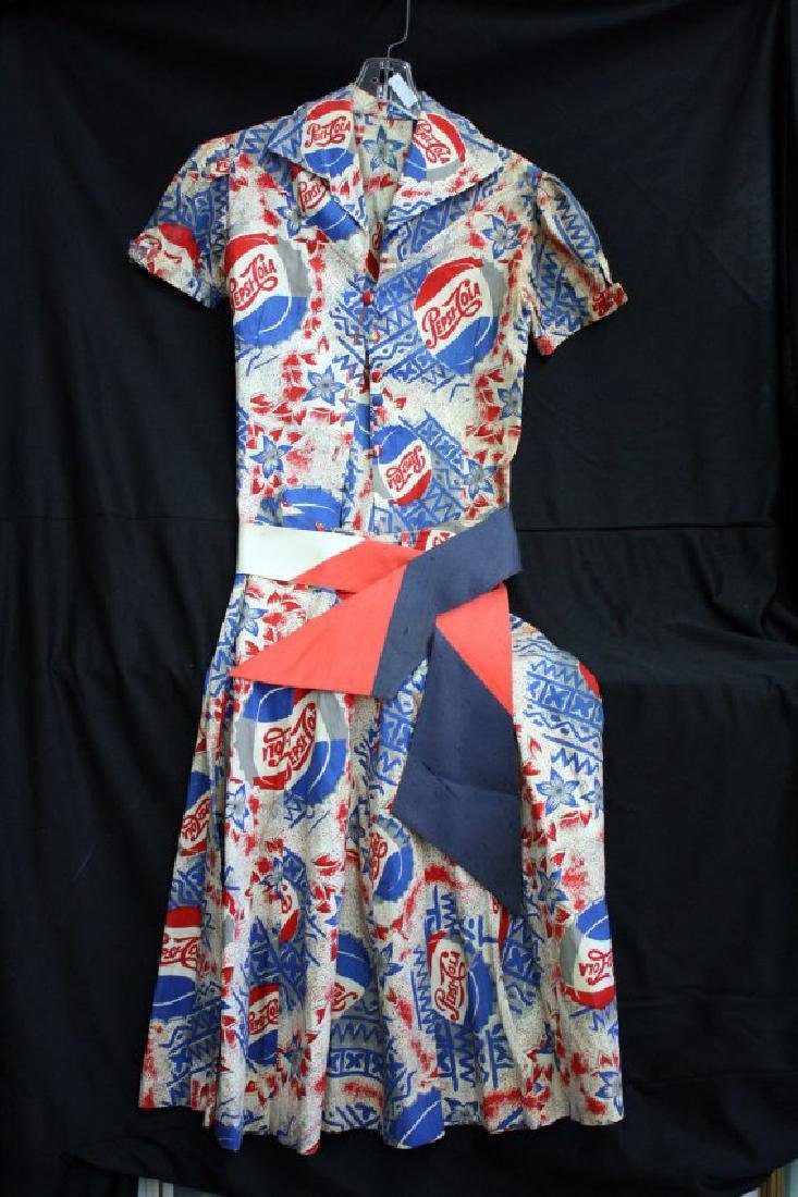 1956 Miss Pepsi Dress & Collection