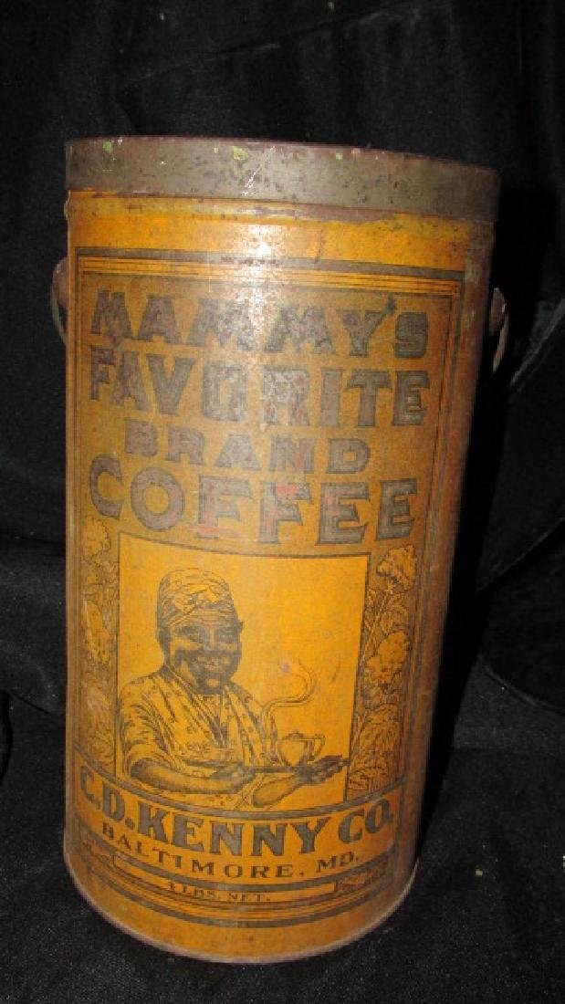 Mammy's Favorite Brand Coffee Tin