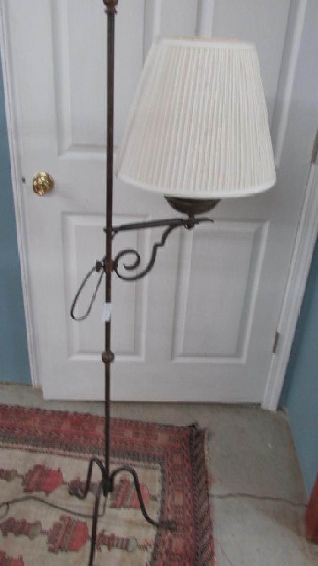 Antique Retro Brass Floor Lamp - 2