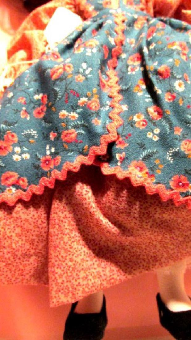 Beth  Madame Alexander. Patterned dress Lissy - 2