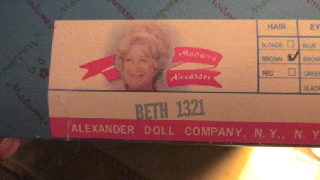 Beth  Madame Alexander. Patterned dress Lissy - 4