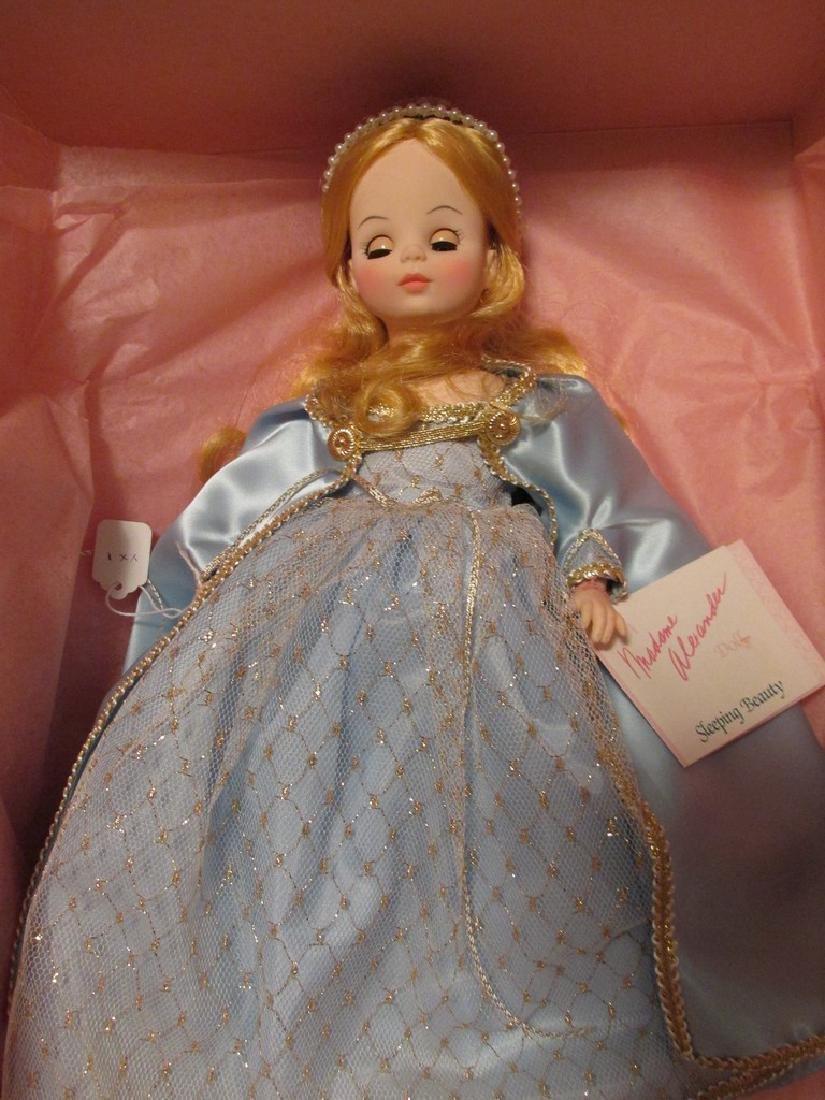 Sleeping Beauty  - light blue dress with gold net over