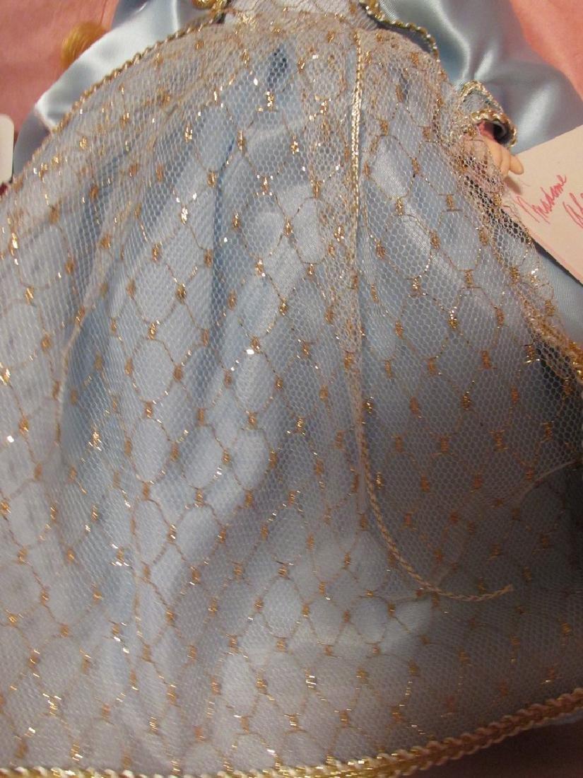 Sleeping Beauty  - light blue dress with gold net over - 2