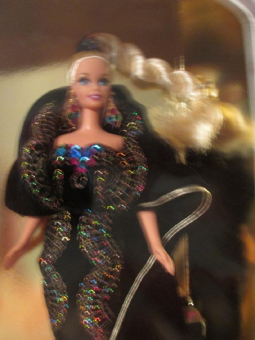 Midnight Gala Barbie – black velvet gown with metallic