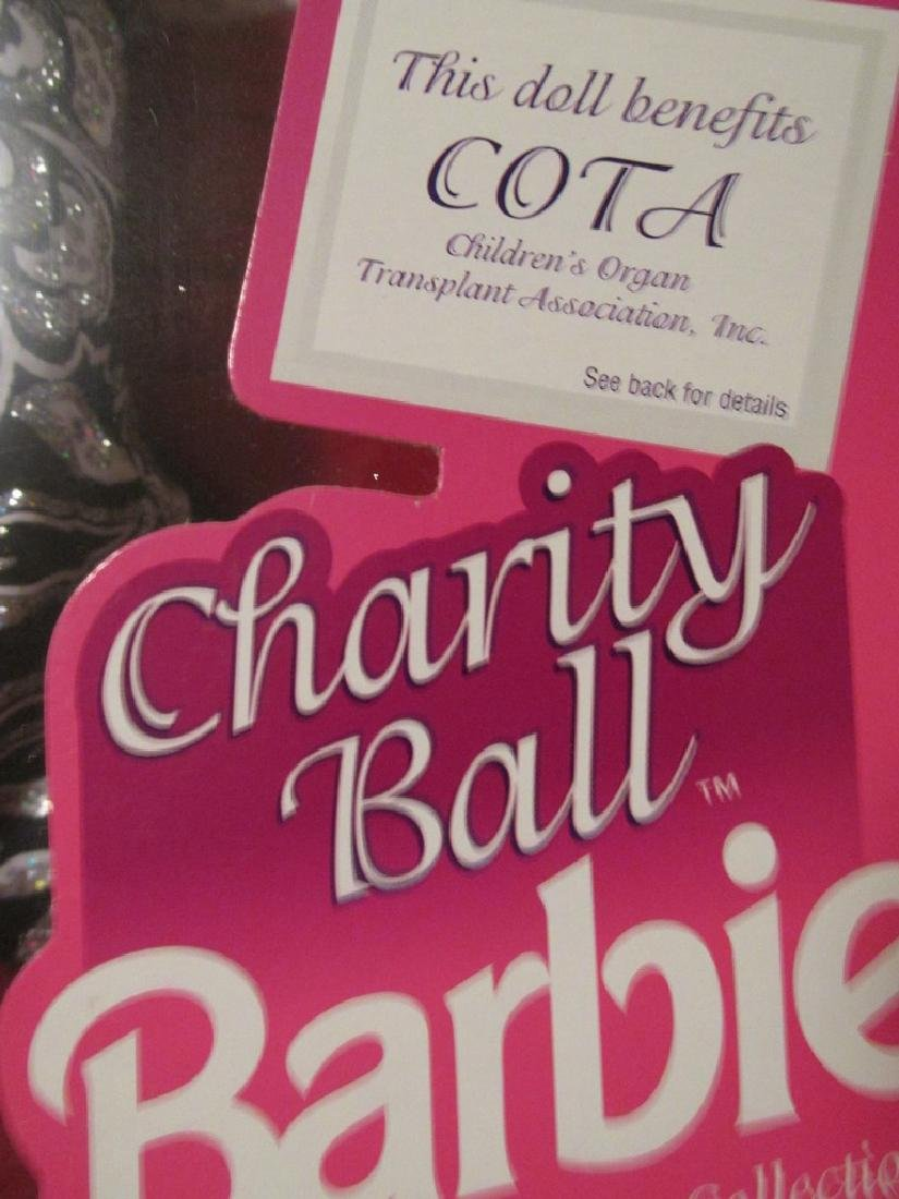 Charity Ball = Black and silver ball gown, silver - 7