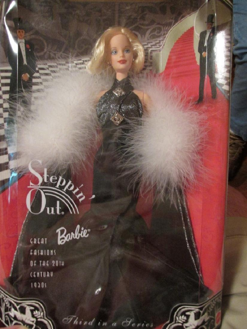 Steppin' Out Barbie – Black ball gown trimmed in