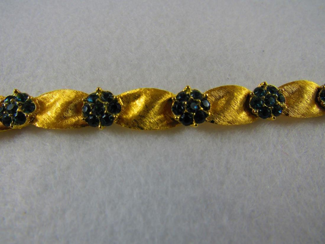 Crown Trifari bracelet