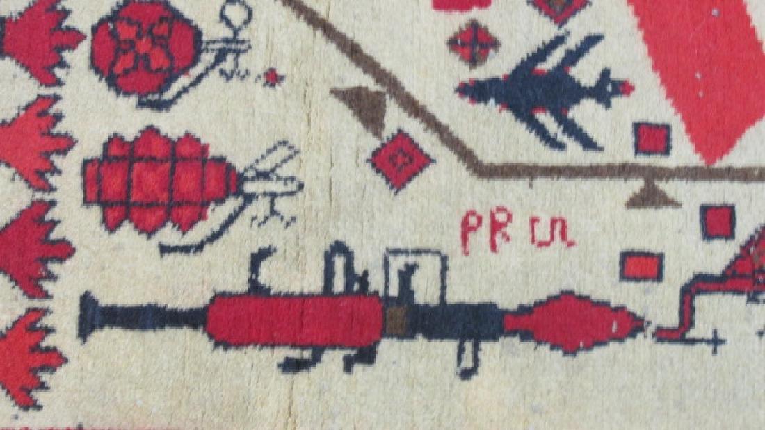 Afghan Weaponized War Prayer Rug - 4