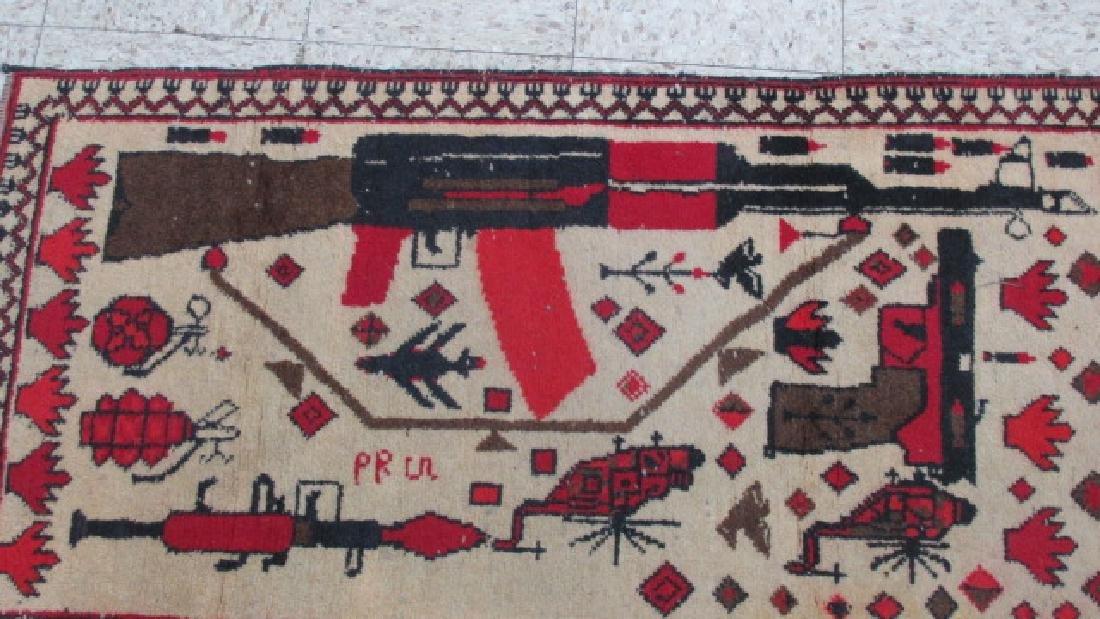 Afghan Weaponized War Prayer Rug - 5
