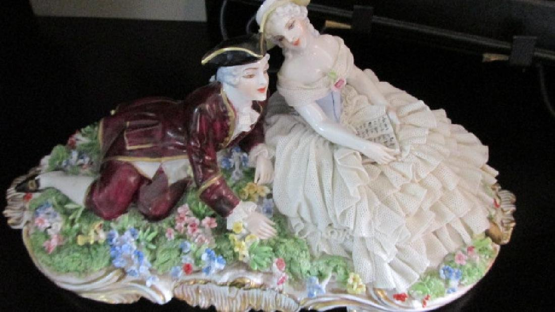The Lovers Porcelain Figures