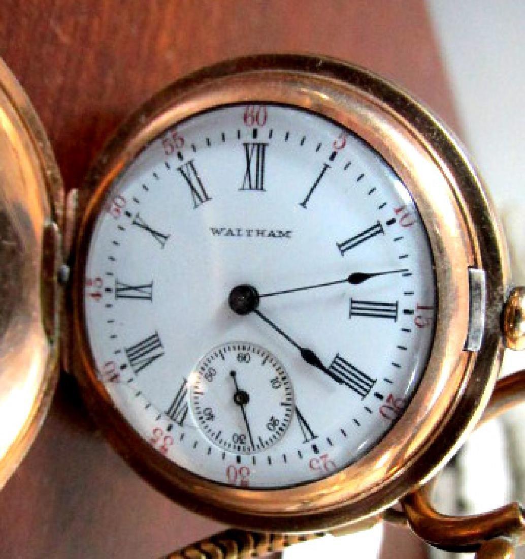 Waltham Hunting Case Pocket Watch