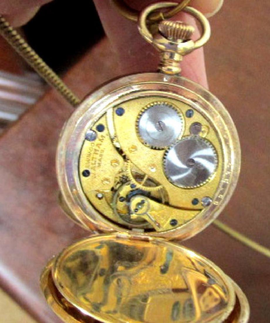 Waltham Hunting Case Pocket Watch - 2