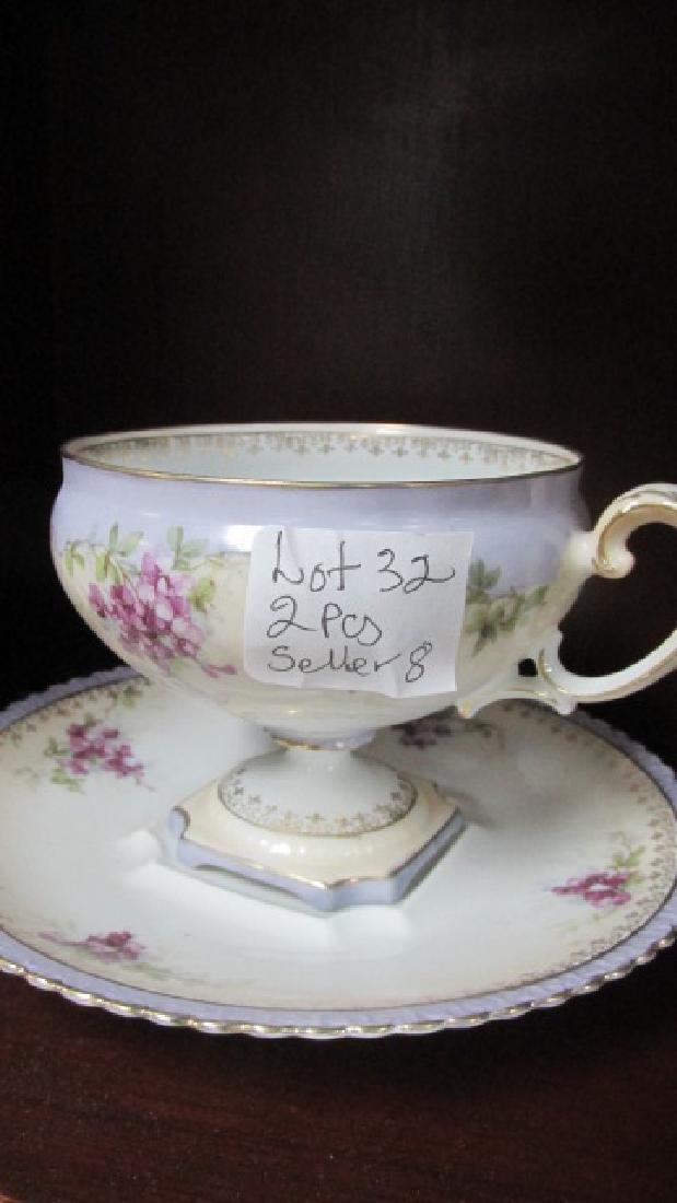 RS Prussia Cup & Saucer Red Mark