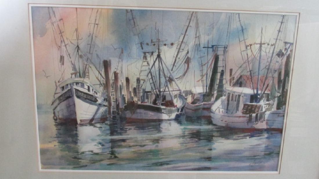 Virginia Fouche Bolton Charleston Boats