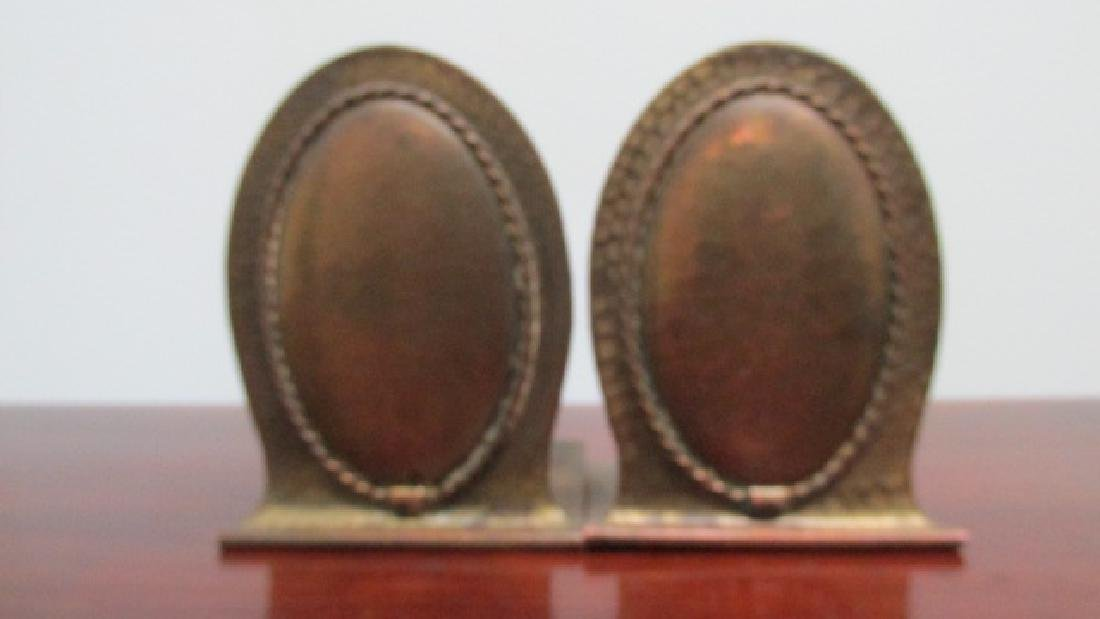Roycroft Copper Bookends Arts & Crafts - 4