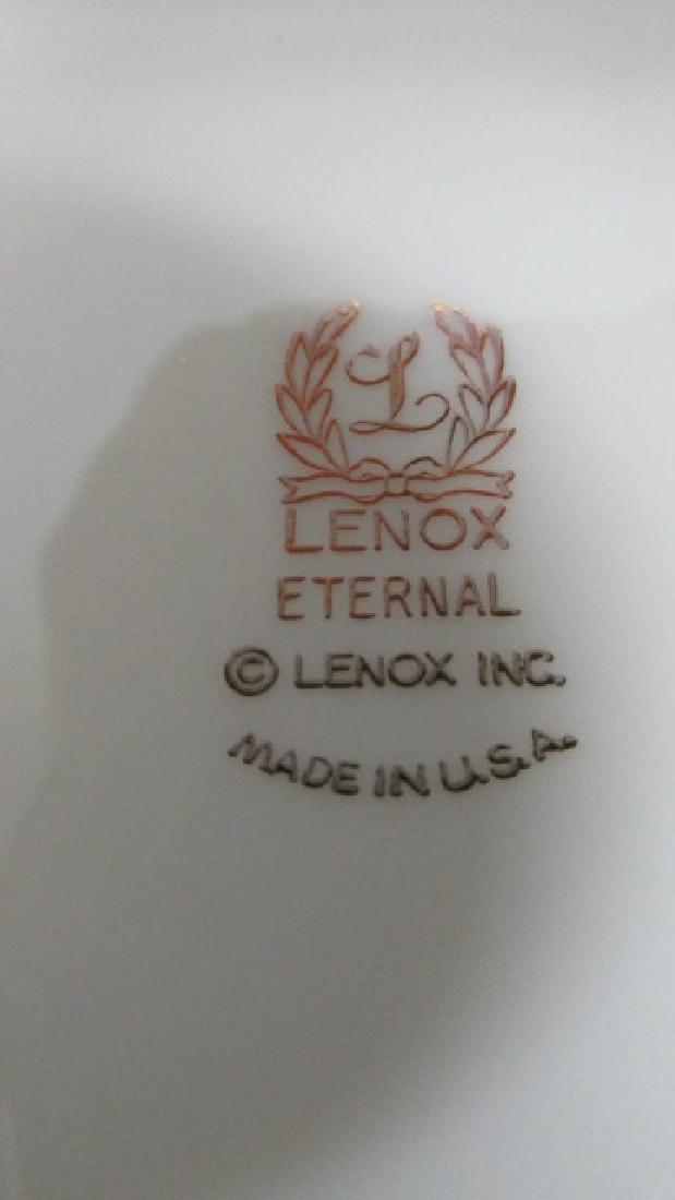 "Lenox Eternal 6 1/2"" Gold Band Salad Plates - 2"