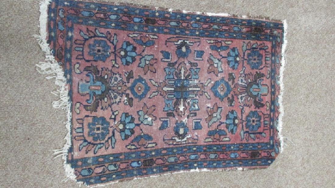 1920s Hand Woven Oriental Rug