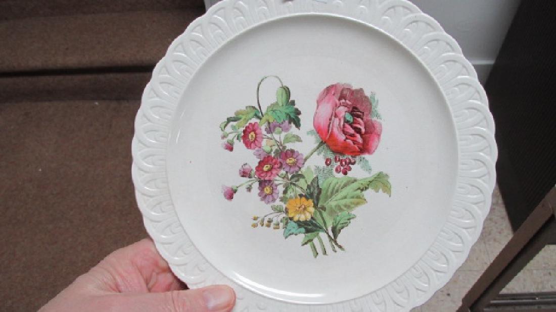 Copeland Spode Poppy Plates