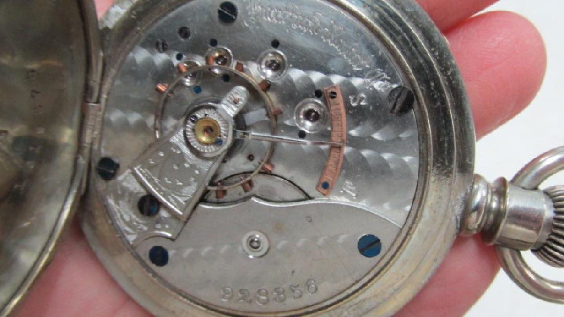 Rockford Open Face Pocket Watch - 3