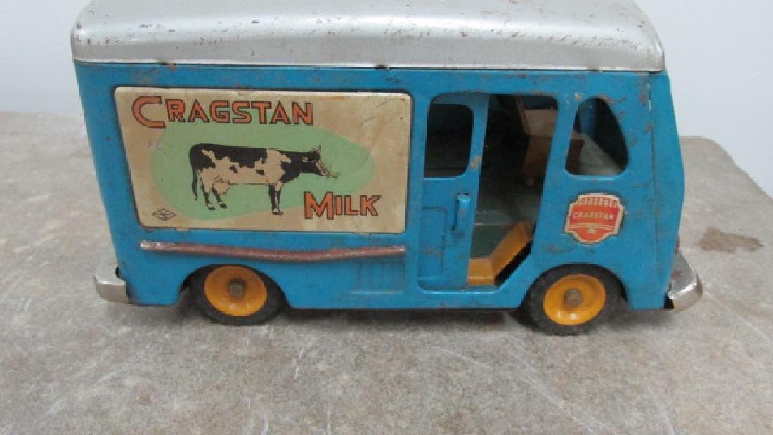 Cragstan Milk Delivery Toy Truck