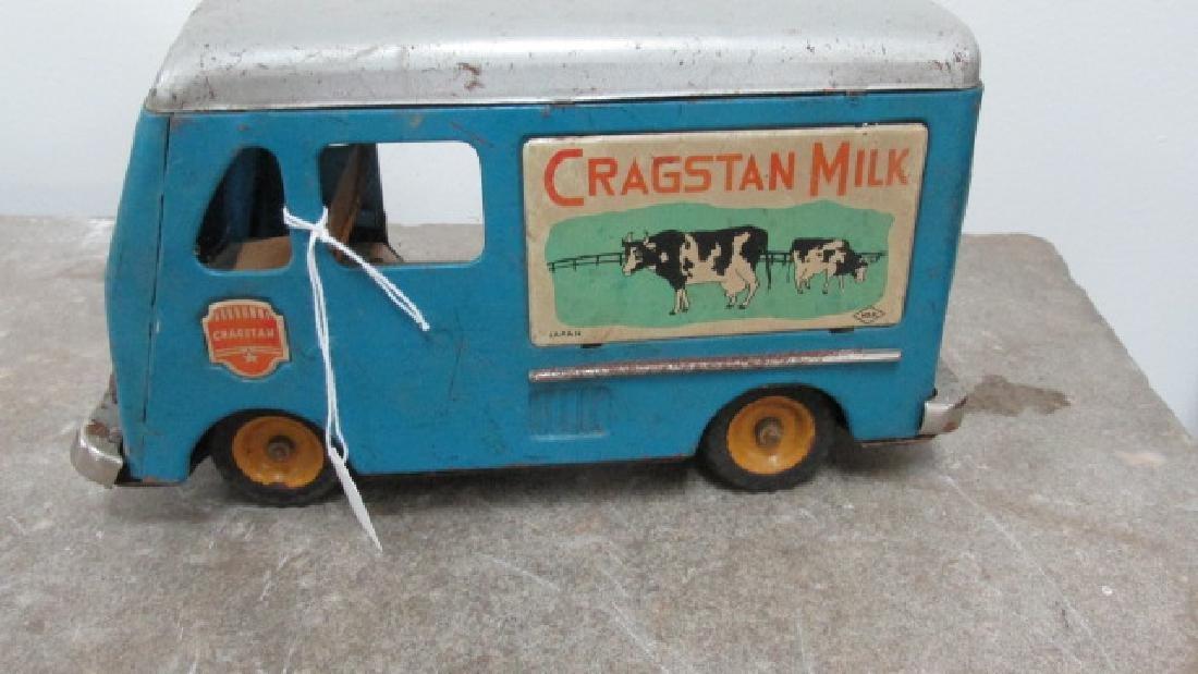Cragstan Milk Delivery Toy Truck - 5