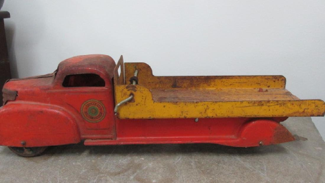 Toy Metal Delivery Truck