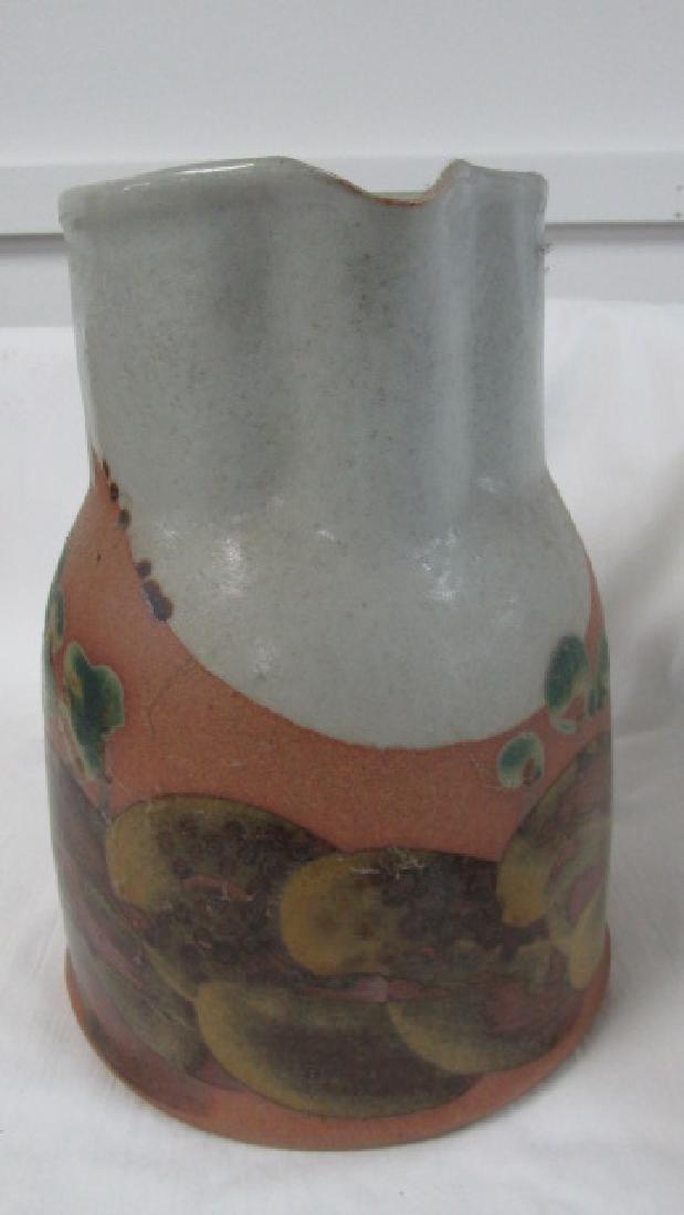 Iron Mountain Tn. Pottery Pitcher - 2