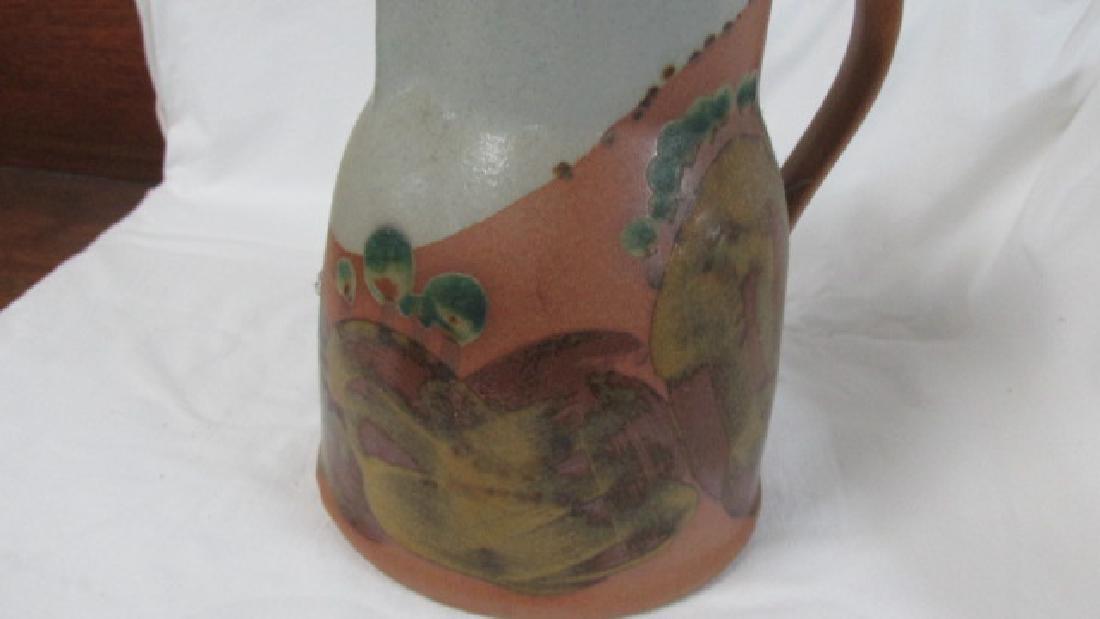 Iron Mountain Tn. Pottery Pitcher - 3