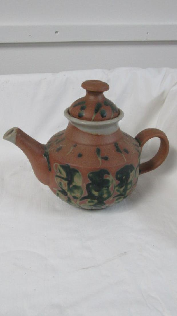 Iron Mountain Tn. Pottery Teapot