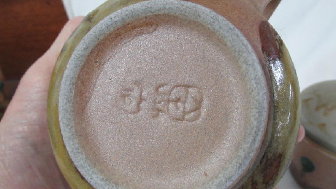 Iron Mountain Tn Pottery Creamer & Sugar - 2