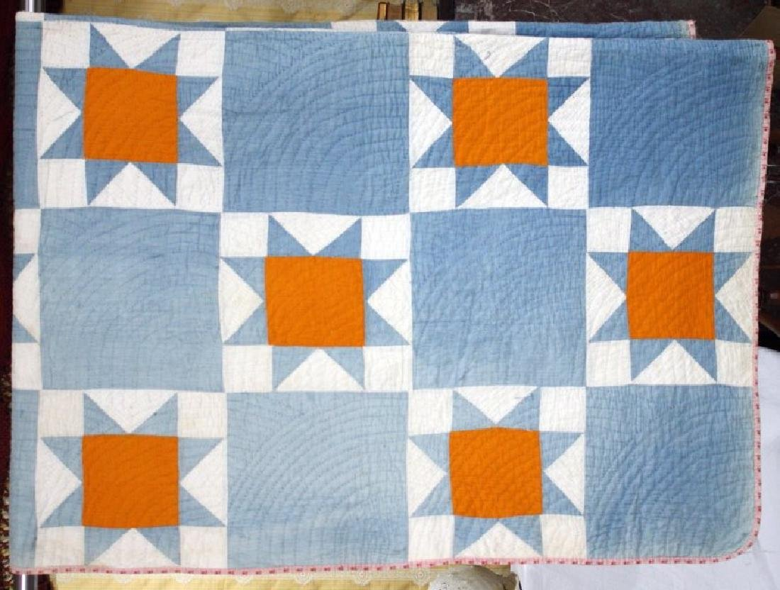 1880s Star East Tenn Cotton Quilt