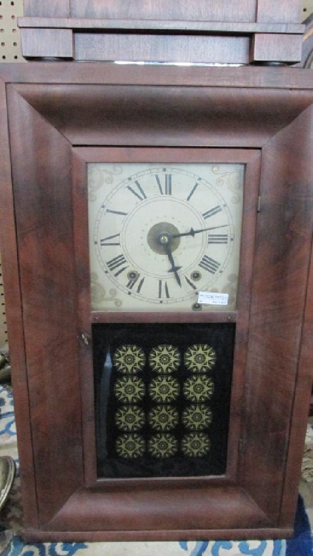 Ornate Walnut Kitchen Clock