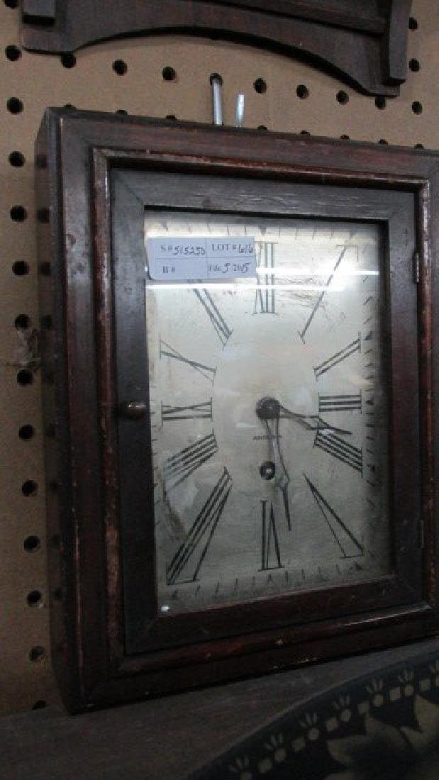 Ansonia Wall Box Clock