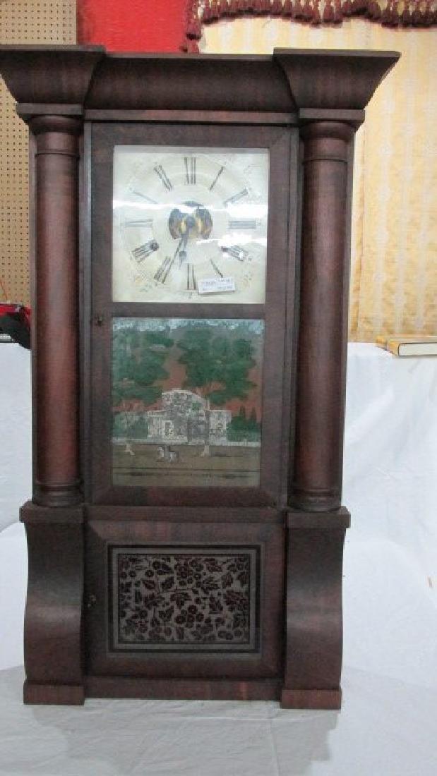 Birge Peck 1830s Triple Decker Mantle Clock
