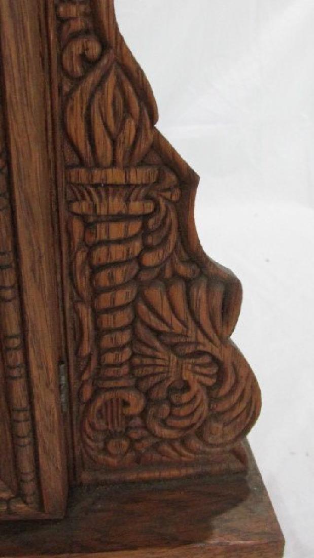 Ingraham Oak Kitchen Clock - 2