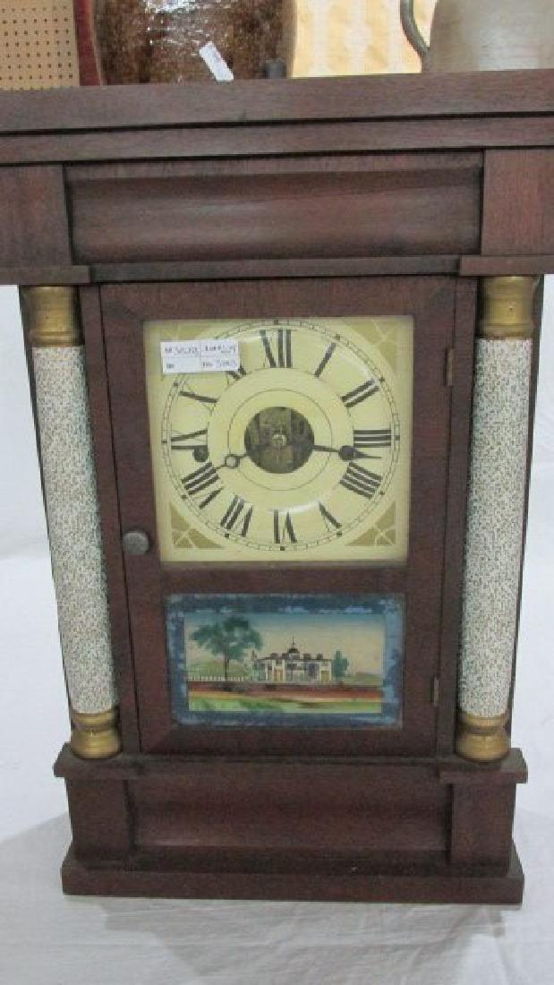 1830s Mahogany 30 Hr. Mantle Clock