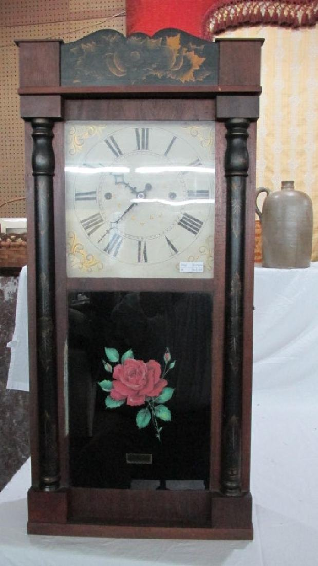 Pratt & Frost Wooden Works Mantle Clock