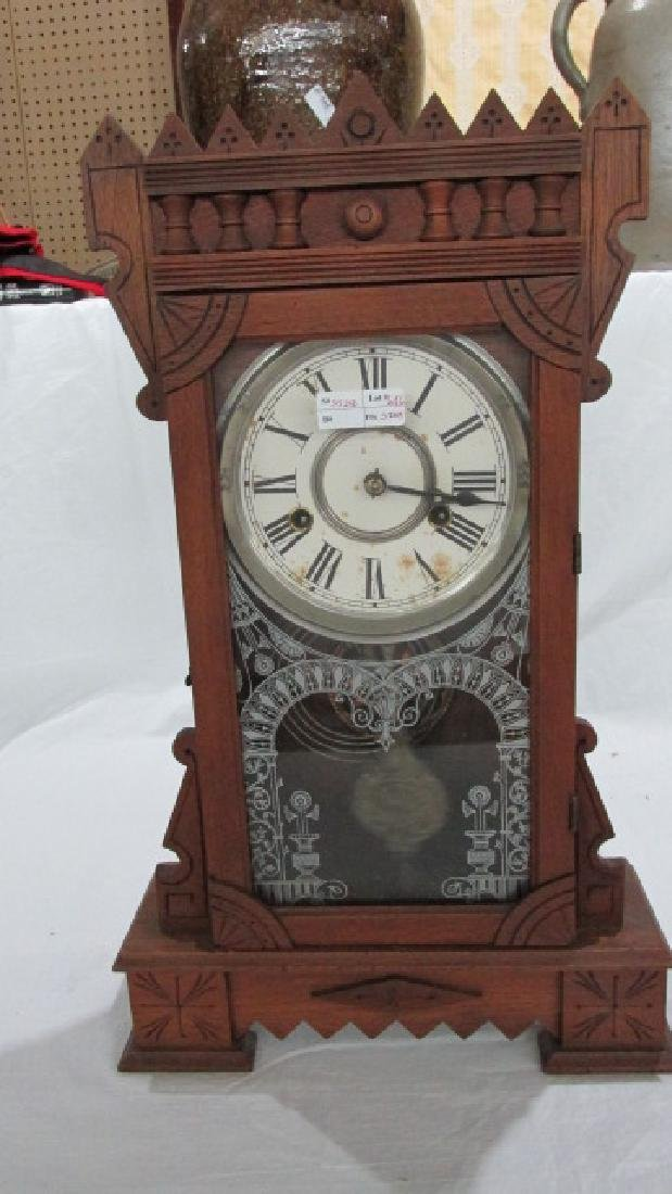 Walnut Kitchen Clock Abyla Gilbert