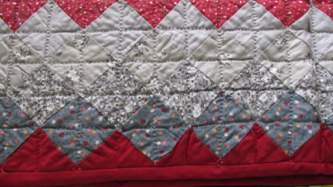 1950s East Tenn Diamond Quilt - 5