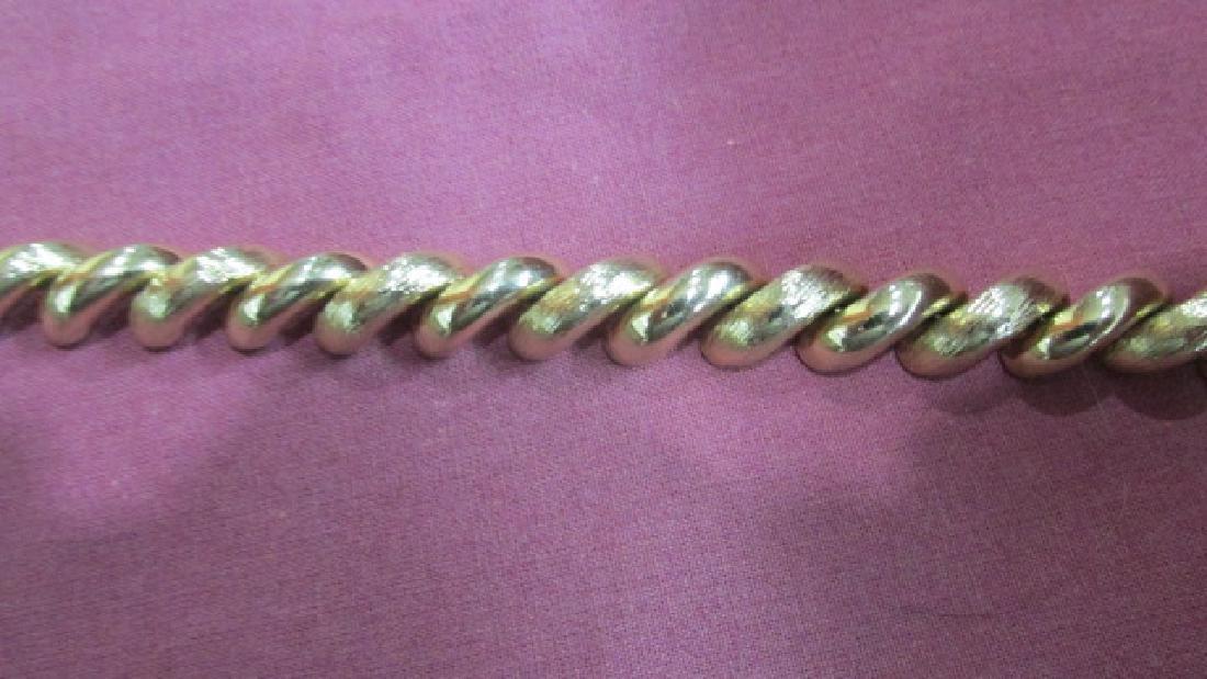 Italian 14K YG Bracelet