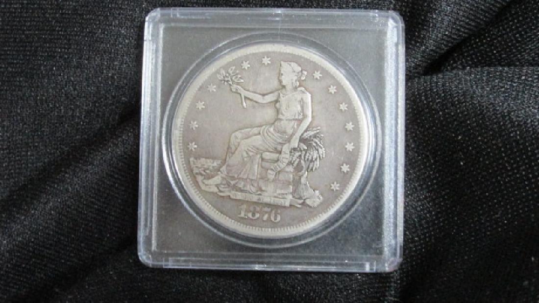1876 CC Silver Dollar