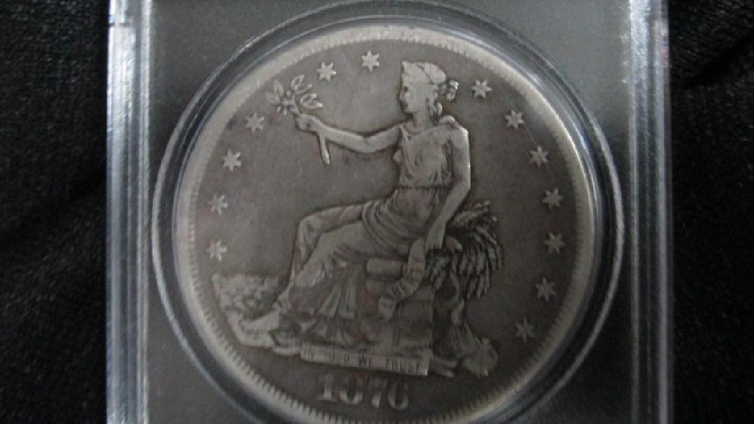 1876 CC Silver Dollar - 4