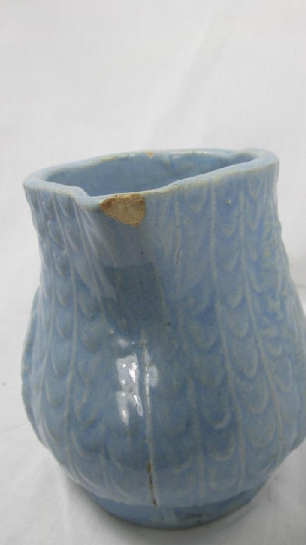 Monastery or Castle & Fish Scale Cream Pitcher - 4