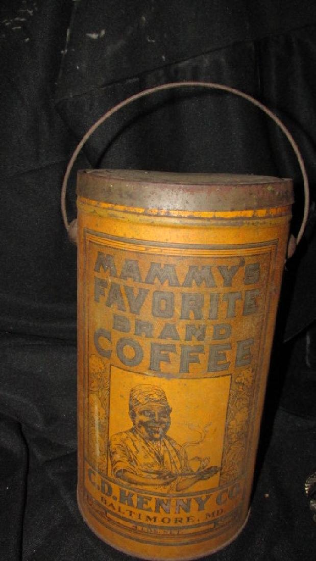 Mammy's Favorite Brand Coffee Tin
