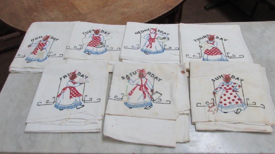 African American Theme 40s Table Covers